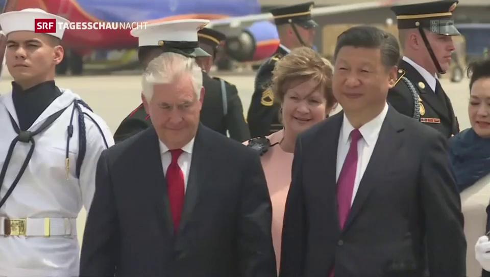 Chinas Präsident in den USA