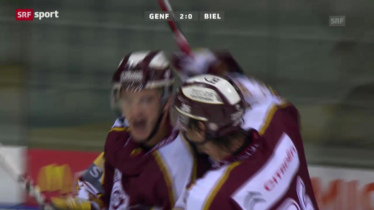 Eishockey: Genf-Biel («sportaktuell»)