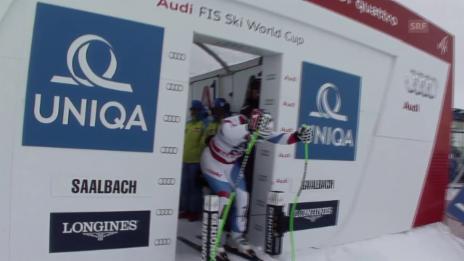 Video «Ski: Fahrt Küng Abfahrt Saalbach» abspielen