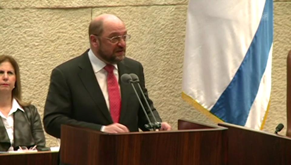 Ausschnitt aus der Rede von Schulz