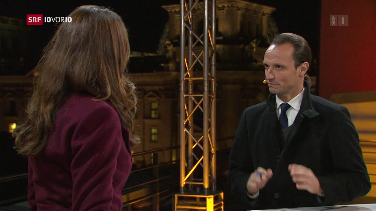 Live-Gespräch mit Korrespondent Adrian Arnold