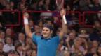 Video «Tennis: Paris-Bercy: Lust und Last zugleich» abspielen