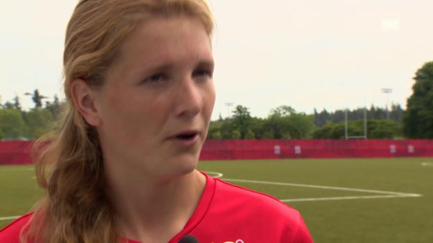 Video «Fussball: Rachel Rinast über Musik» abspielen