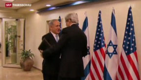 Video «US-Aussenminister Kerry verhandelt in Nahost» abspielen
