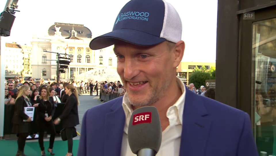 Woody Harrelson im Interview