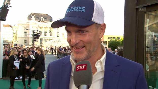 Video «Woody Harrelson im Interview» abspielen