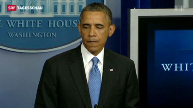 Video «Obama bezieht offen Stellung» abspielen