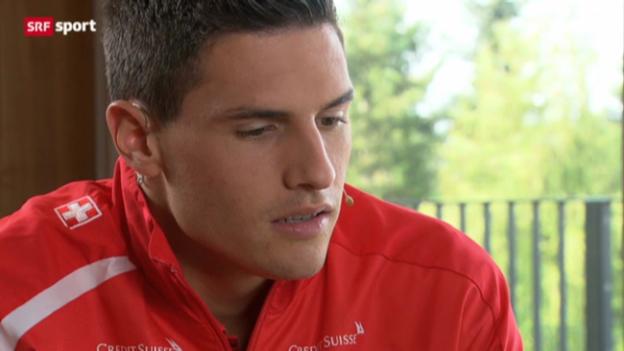 Video «Gespräch mit Shooting-Star Fabian Schär» abspielen