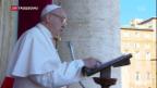Video «Weihnachtsfeiern in Rom und Betlehem» abspielen