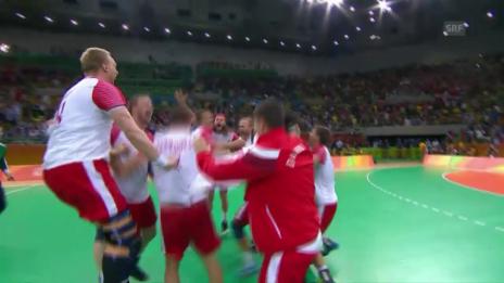 Video «Dänemark ist Olympiasieger im Handball» abspielen