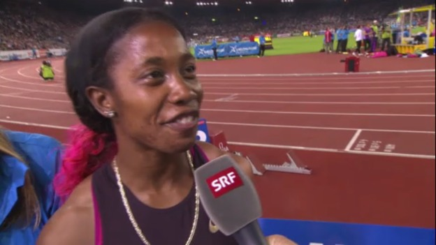 Video «Interview mit Shelly-Ann Fraser-Pryce» abspielen
