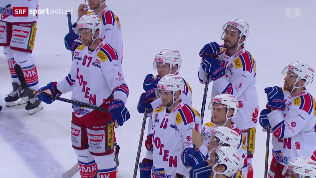Eishockey: NLA, Lausanne - Kloten Flyers