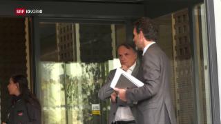 Video «Neue Eskalationsstufe in Verhandlungen um Rahmenabkommen» abspielen