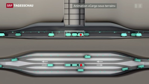 Video «Vision der Zukunft –«Cargo sous terrain»» abspielen