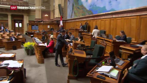Video «No-Billag-Debatte im Parlament» abspielen
