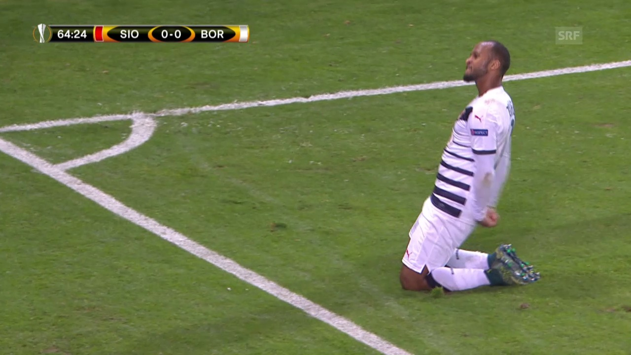 Fussball: Europa League, Sion - Bordeaux Tor Toure