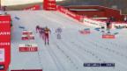 Video «Langlauf: Sprint in Östersund, Final Frauen» abspielen