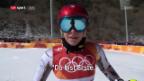 Video «Uelis Lieblings-Olympiamoment: der Sieg von Ester Ledecka» abspielen