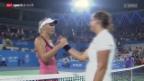 Video «Tennis: Timea Bacsinszky - Caroline Wozniacki» abspielen