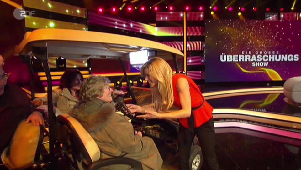 Michelle Hunzikers Premiere von «Die grosse Überraschungsshow»