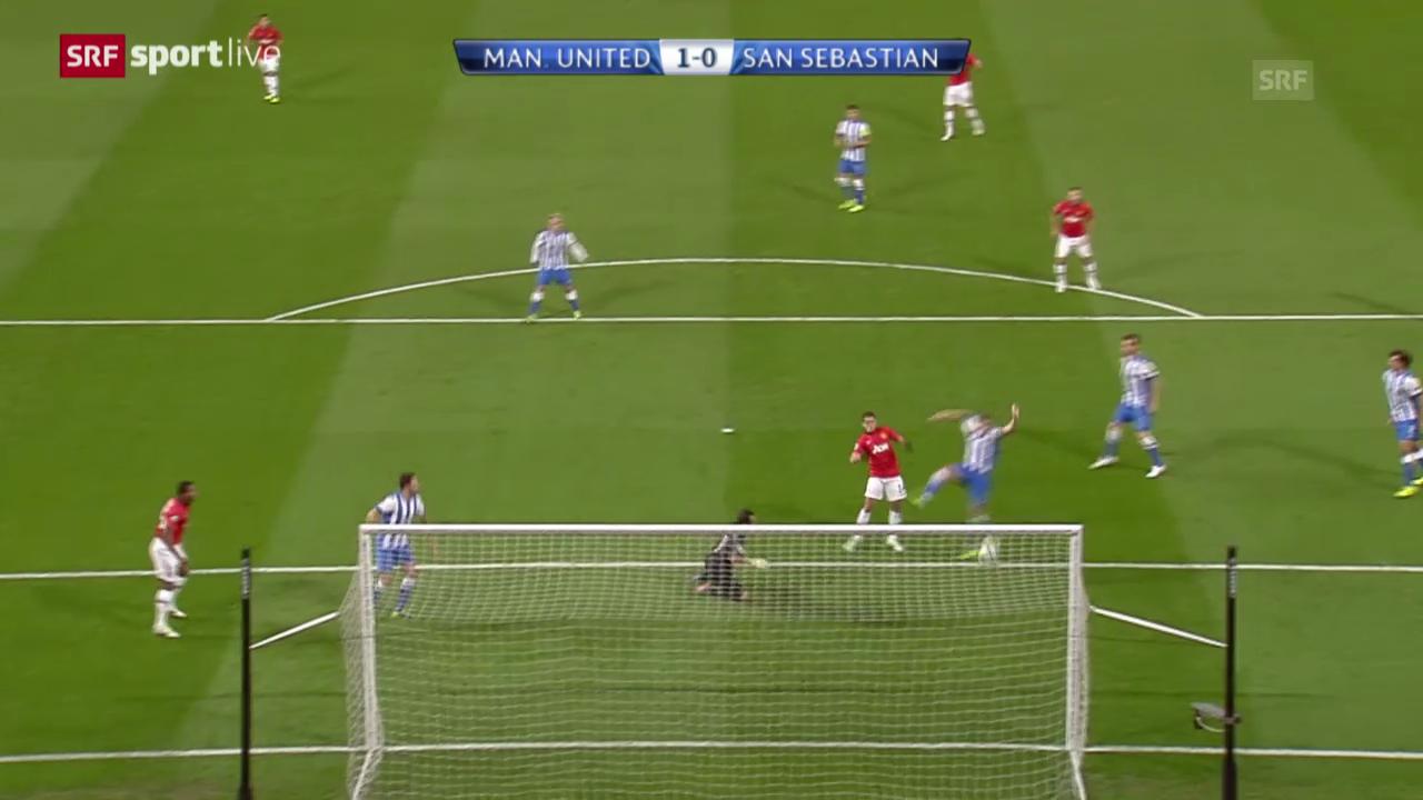 CL: Manchester United - Real Sociedad San Sebastian