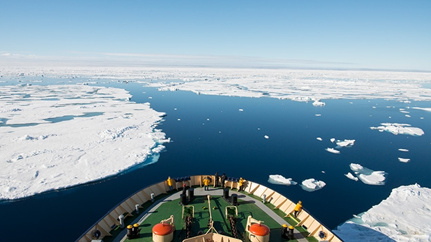 «Seestrassen durch das Eis»
