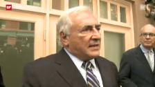 Video «Fall DSK endet wie er begonen hat – mit einem Paukenschlag» abspielen