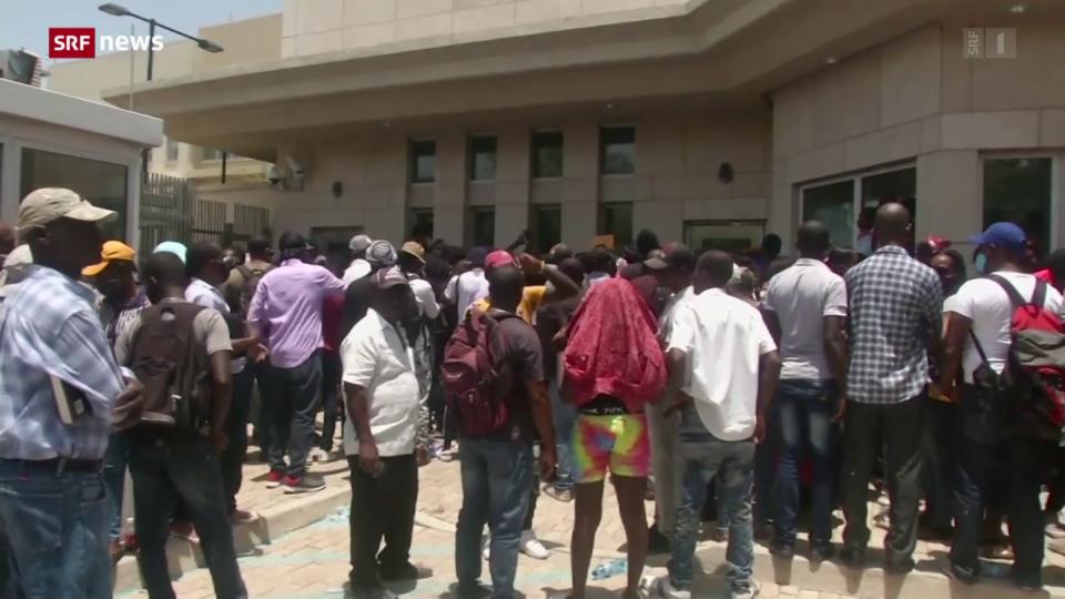 Aus dem Archiv: Haiti bittet USA um Unterstützung