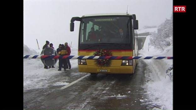 Laschar ir video «Il november 2000 vegn il pass dal Lucmagn avert per lemprima gia...»