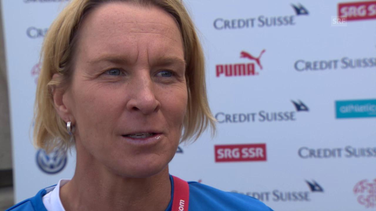 Fussball: Frauen-WM, Martina Voss-Tecklenburg über Lara Dickenmann