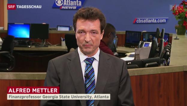 Video «Einschätzungen des Bankenexperten Alfred Mettler» abspielen