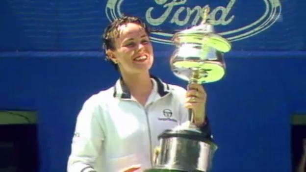 Video «Tennis: Martina Hingis' grösste Erfolge» abspielen