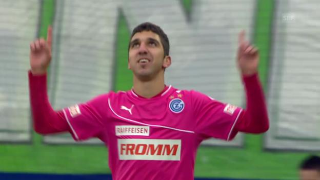 Video «Dabburs erste Tore in der Super League» abspielen