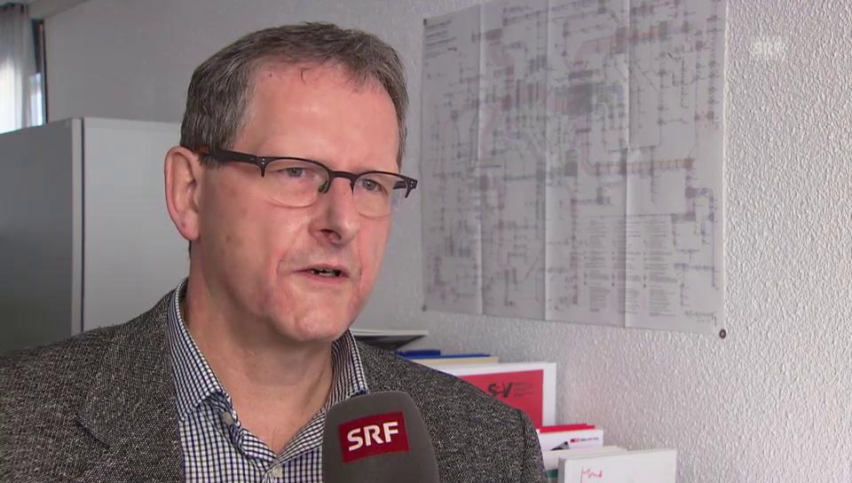 Peter Moor, Gewerkschaft SEV, zur Bahnsicherheit