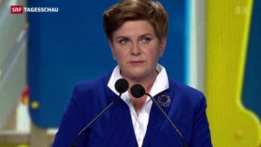 Video «Möglicher Machtwechsel bei Parlamentswahlen in Polen» abspielen