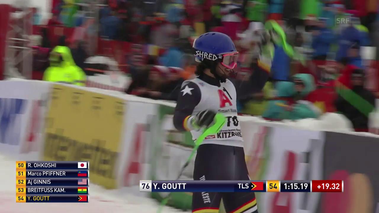 Riesenapplaus für Weltcup-Debütanten aus Osttimor
