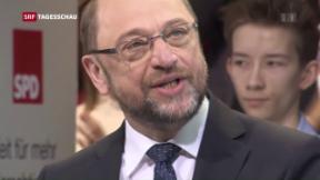 Video «Martin Schulz ist Kanzlerkandidat » abspielen