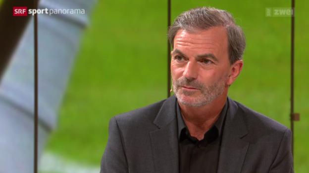 Video «Tennis: Heinz Günthardt zu Stan Wawrinka» abspielen