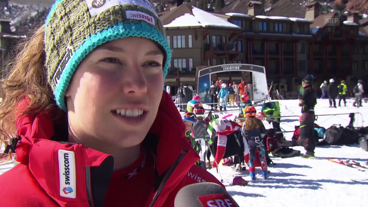 Ski: WM 2015 Vail/Beaver Creek, Michelle Gisin: «Muss Vollgas geben»