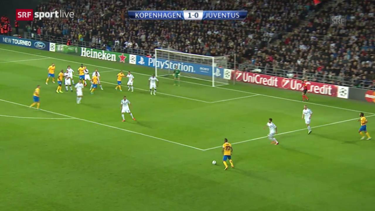 CL: Kopenhagen - Juventus Turin