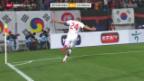 Video «Fussball: Südkorea - Schweiz» abspielen