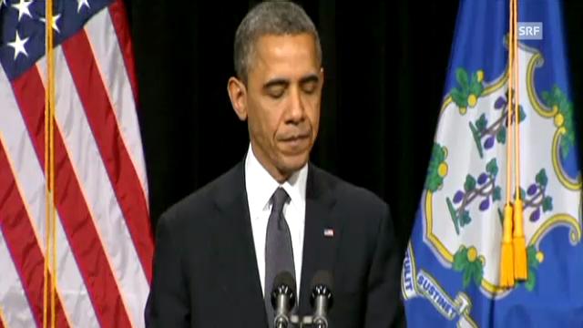 Obama spricht zu den Eltern