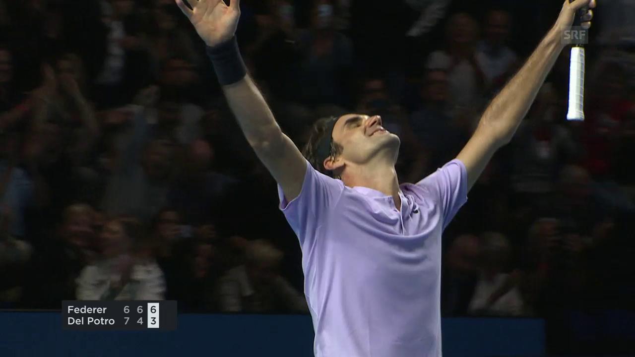 «Championship Point» - Federers Matchball zum Basel-Triumph