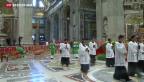 Video «Papst ruft Kirche zu Reformen auf» abspielen