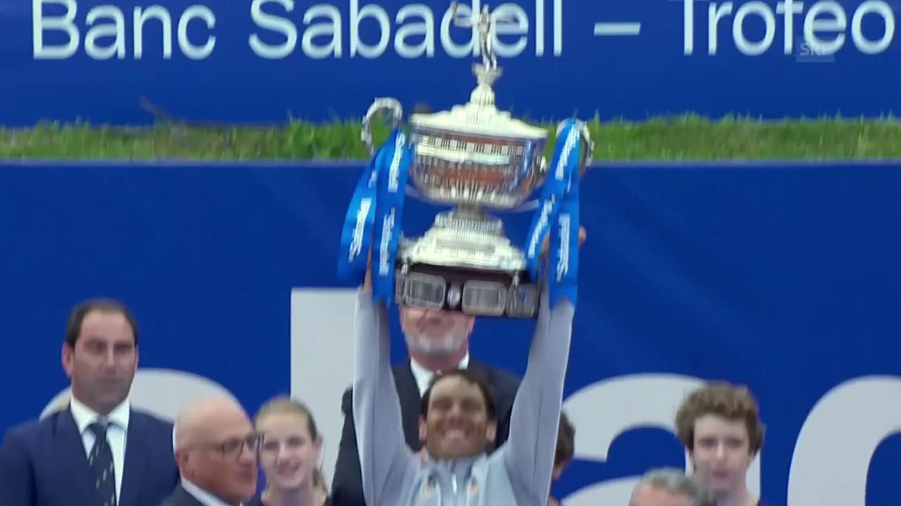 Nadal holt sich den Turniersieg in Barcelona