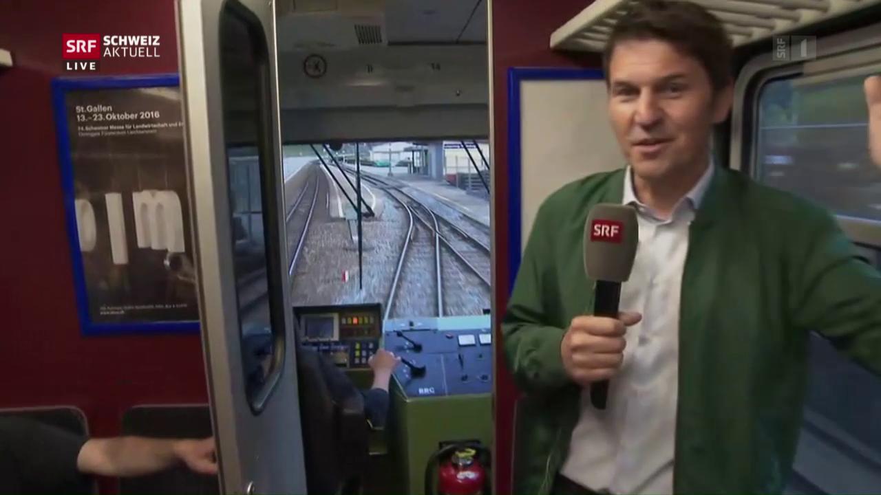 Südostbahn will selbstfahrende Züge