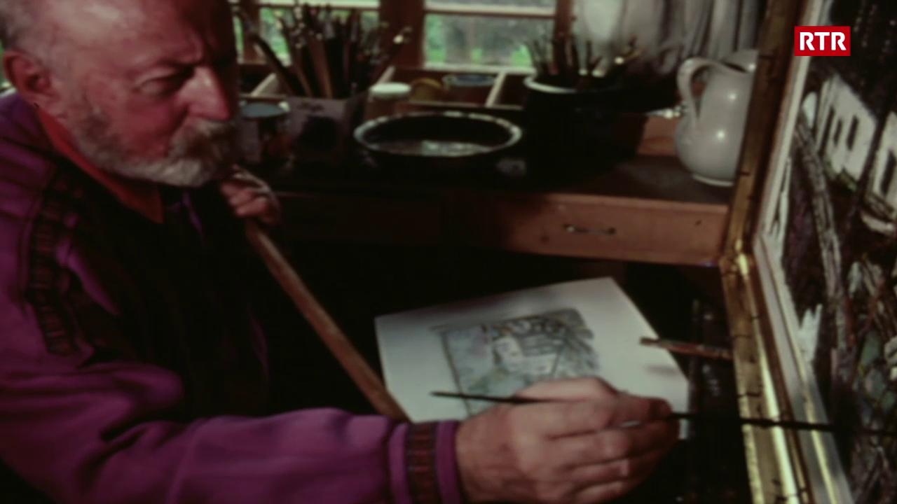Svizra Rumantscha (08.09.1985): Purtret d'il pictur