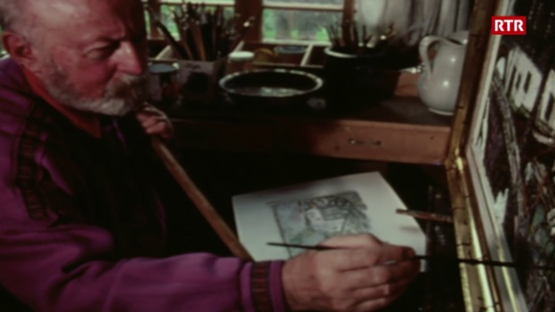 Laschar ir video «Svizra Rumantscha (08.09.1985): Purtret d'il pictur»