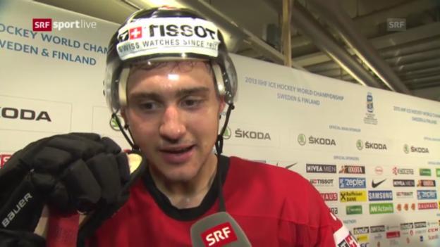 Video «Interview mit Nino Niederreiter» abspielen