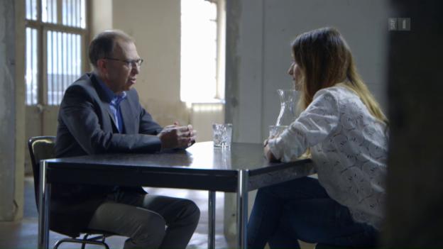 Video ««Focus Blind Date»: Viktor Giacobbo trifft Melanie Winiger» abspielen